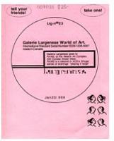 Luis Jacob: Galerie Largeness no.23