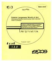 Luis Jacob: Galerie Largeness no.06