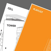 Bill Burns: Prison Tower Plans, Prison Cell Plans and the Songs of Guantanamo Bay