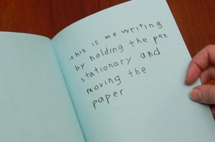 Micah Lexier: This is Me Writing