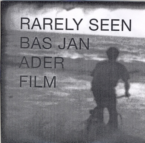 Rarely Seen Bas Jan Ader Film