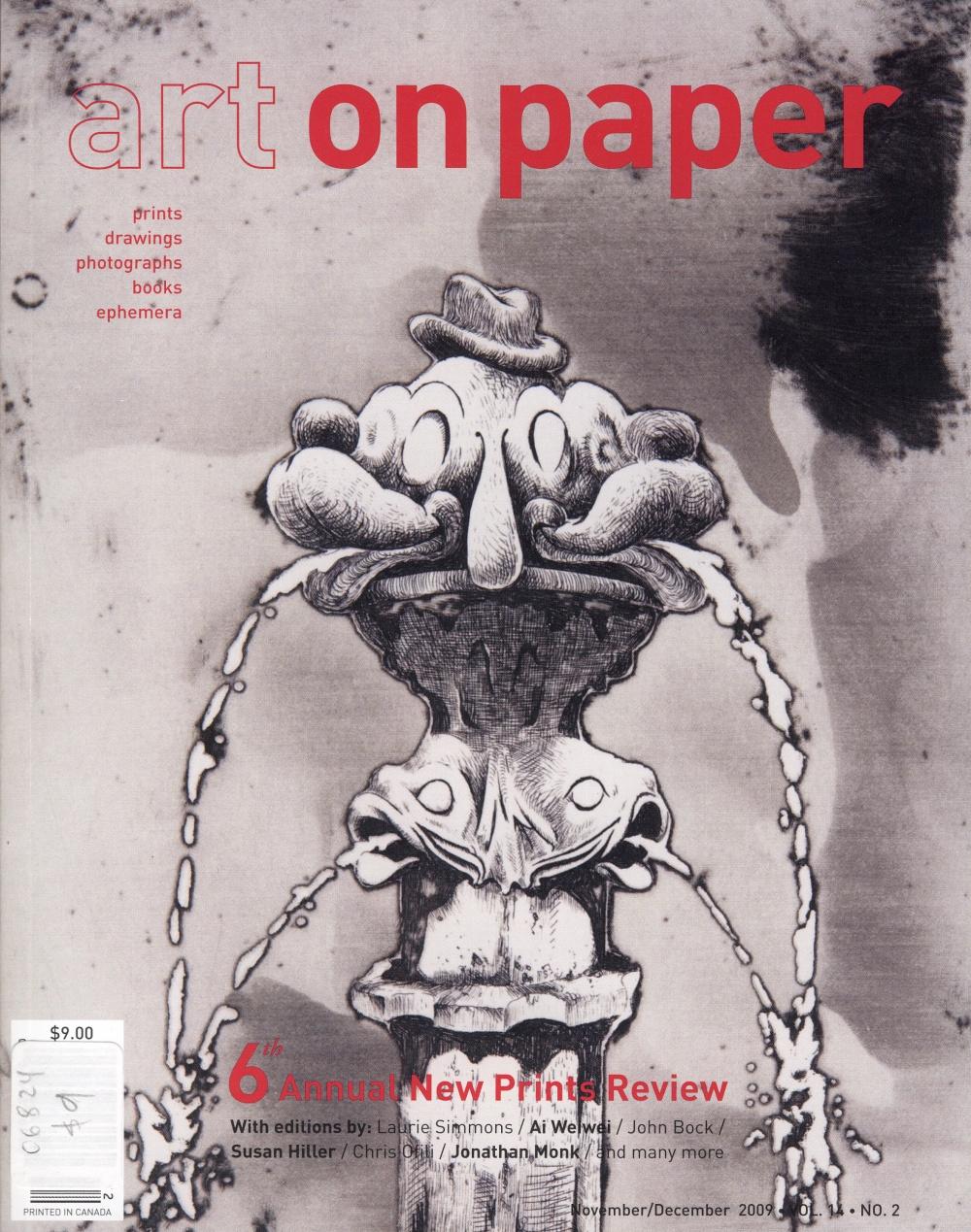 Art on Paper, November/December 2009